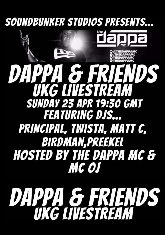 Poster Event Dappa and Friends 2017