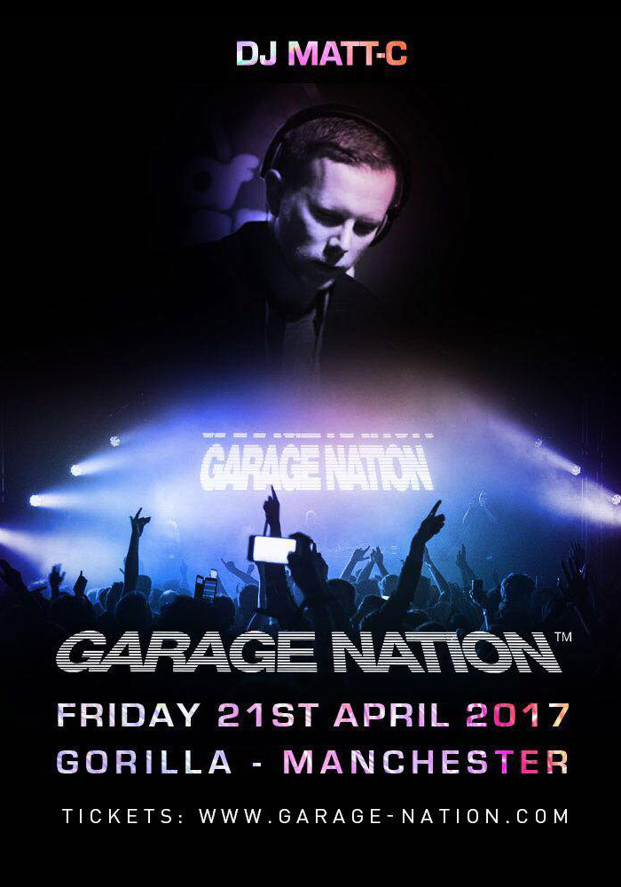 Poster Event Garage Nation
